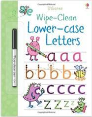 wipe clean letters 4