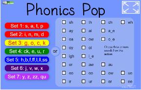 Phonics Pop