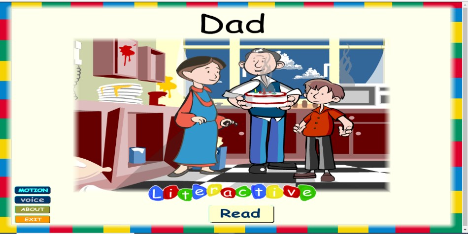 Dad Guided Reader