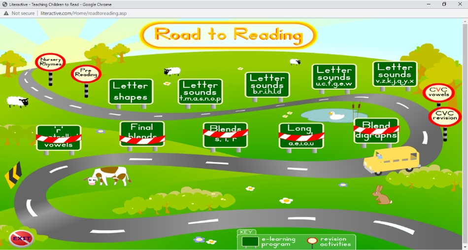 Literactive Road to Reading