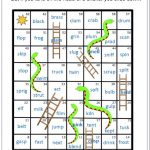 Phonics Blending Blends Words Snakes and ladders
